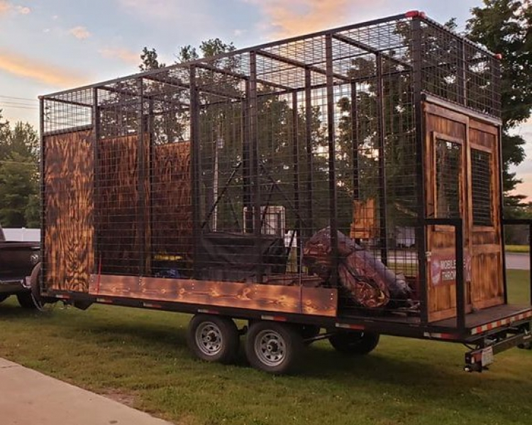 *** NEW *** Mobile Axe Throwing Trailer - $3200