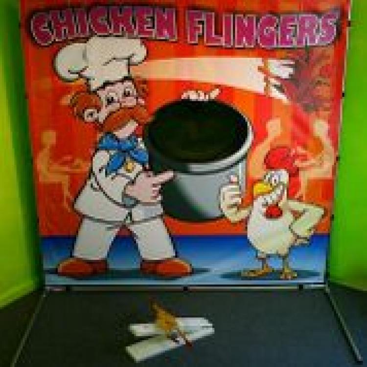 Chicken Flinger Frame Game