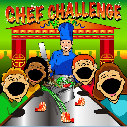 Chef Challenge Frame Game