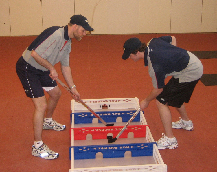 Box hockey