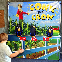 Conk the Crow Frame Game