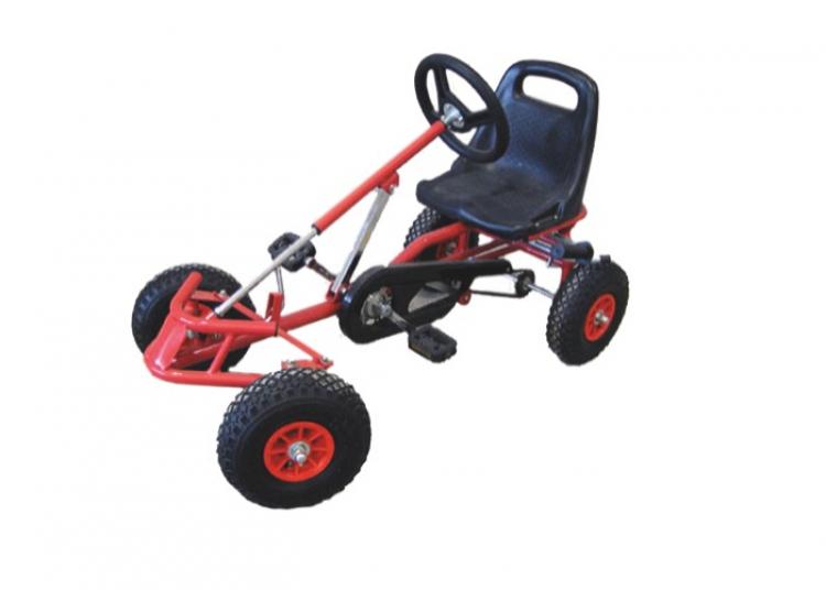 Pedal Cars w/Track