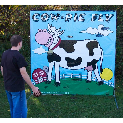Cow-Pie Fly Frame Game