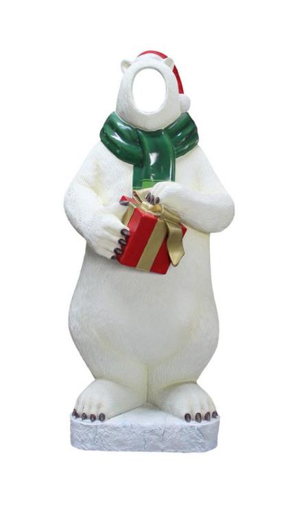 *** NEW ***  Giant Polar Bear Photo OP