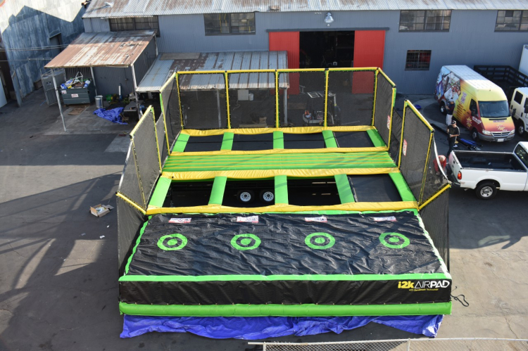 *** NEW *** Mobile Trampoline Jump Zone