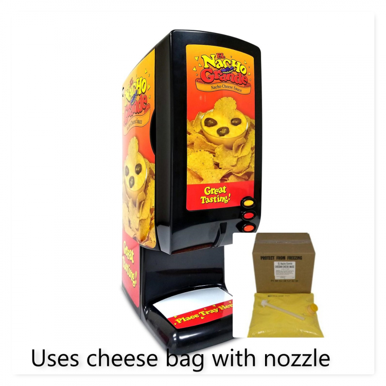 Nacho Cheese Dispenser (supplies not included)
