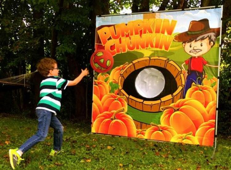 Pumpkin Chunkin Frame Game