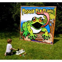 Froggy Fly Fling Frame Game