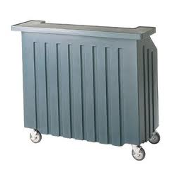 Portable Bar or Rolling Cooler
