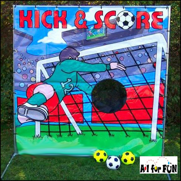 Kick and Score Soccer Frame Game