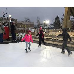 Iceless Skating Rink