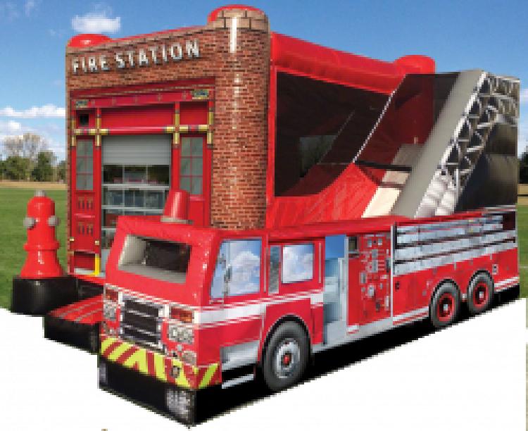 Fire Truck Combo - WET