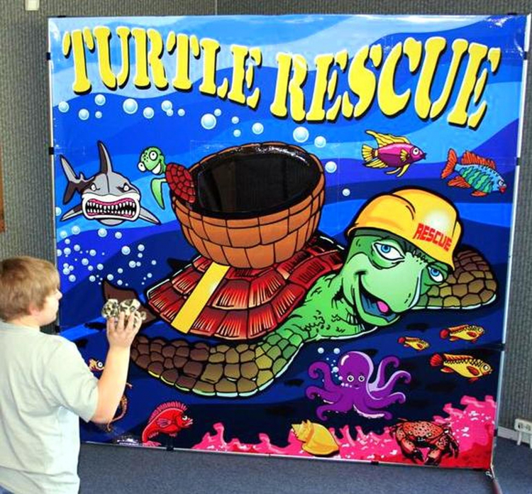 Turtle Rescue Frame Game